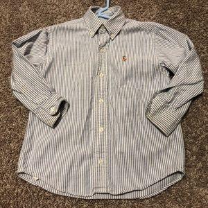POLO Ralph Lauren boys striped button down size 4